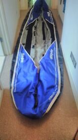 Sevylor Hudson inflatable kayak/canoe with pump, manometer, paddles and buoyancy aids