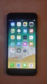 Apple Iphone 7plus 128gb matt black on EE