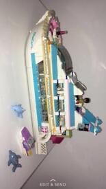 Lego friends boat