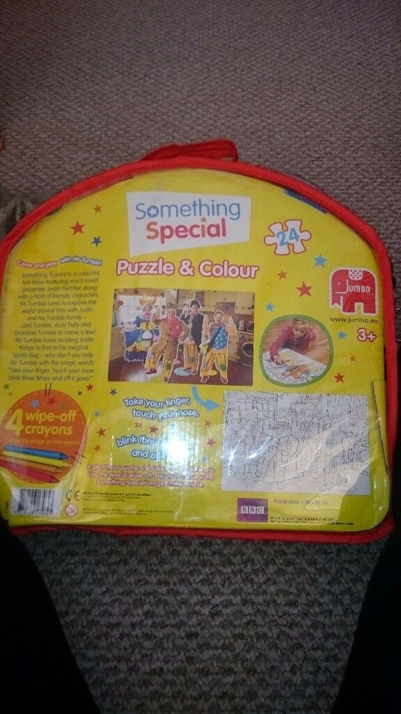 Mr tumble floor puzzle