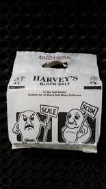 Harveys block salt for water softeners 5 packs