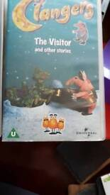 Clangers VHS tapes