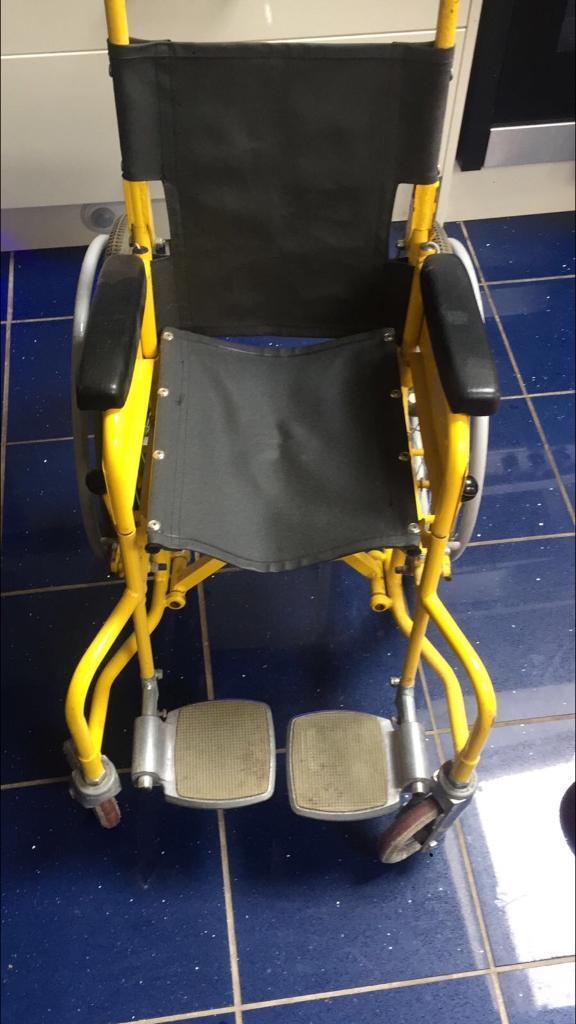 Childrens manual wheelchair