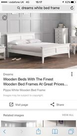 Dreams white bed frame
