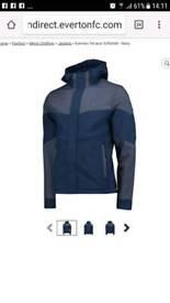 Mens everton jacket new