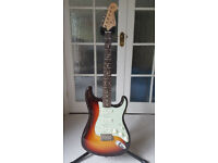 Fender Custom Shop 60's Stratocaster, NOS Stunning Three Tone Sunburst. model R90240.