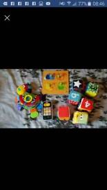 Toddler sensory toys elc, nuby, Fisher price etc see pics