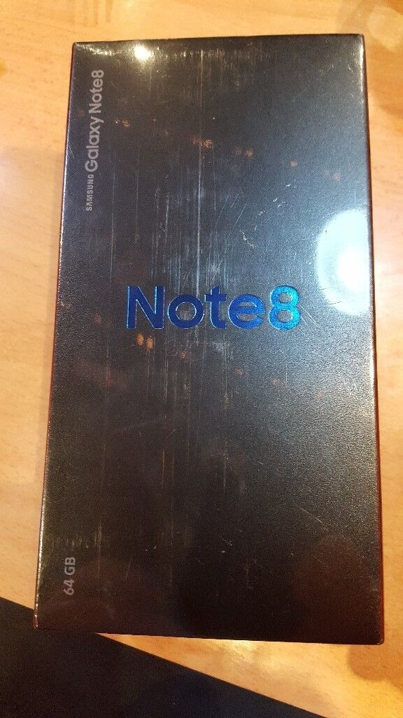 samsung galaxy note 8 in gold 64 gig