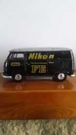 EXTREMELY RARE / VINTAGE 1972 - TOMICA DANDY NIKON - THE AUTO COMPACT FE - VW DELIVERY VAN