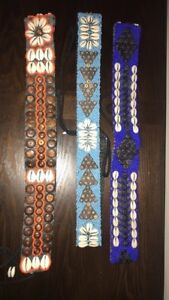Hand made belts from Bali