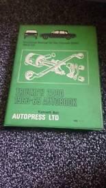 Triumph 2000 manual