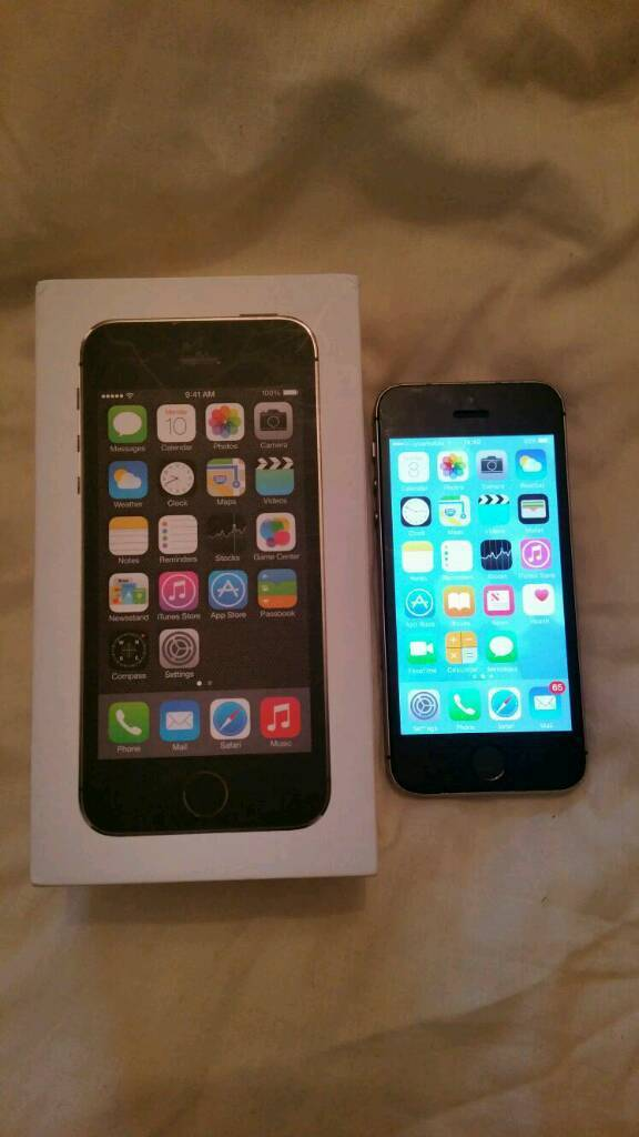 IPhone 5s 32gb unlockedin Yardley, West MidlandsGumtree - IPhone 5s 32gb unlocked to all networks. Black and space grey. In good condition. Comes with box and all accessories. Call for more info