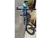 bargain childs mountain style bike !