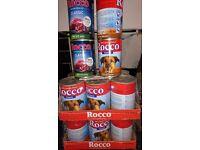 Rocco dog food 15 tins