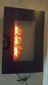 Charmouth wall mounted electric fire