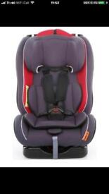 Halfords car seat group 1-2-3