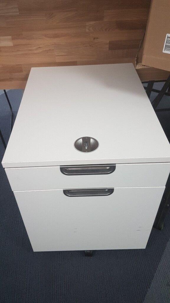 Ikea Combination Lock Filing Cabinet Galant In Camden