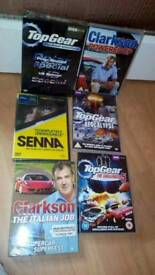 Top Gear and Clarkson dvds Exeter
