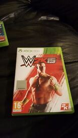 For sale w2k15 xbox 360 game