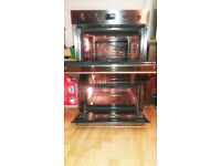 USED Smeg DOSP38X Built-in Double Oven