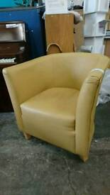 Mustard tub chair available