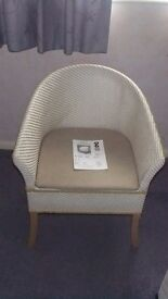 Commode Chair Basketweave Finish