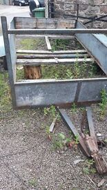 5ft x 10ft Trailer chassis with Tow Hitch