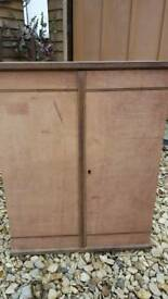 Carpentry vintage cabinet
