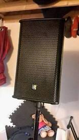 L2audio 2 300w speakers and 1000w bass sub passive system