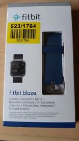 Original Small Fitbit Blaze - Blue Band