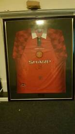 As worn by Eric Cantana signed shirt