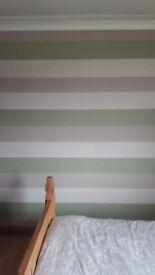 Wallpaper Superfresco Java Spring Green Striped