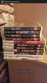 X box 360 and ps3 games