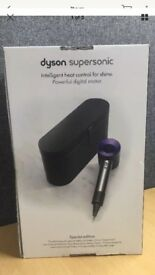 brand new box dyson hair dryers with limited edition black case