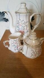 3 piece tea pot set