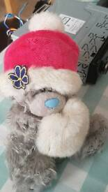 Tatty Teddy Bear winter bear