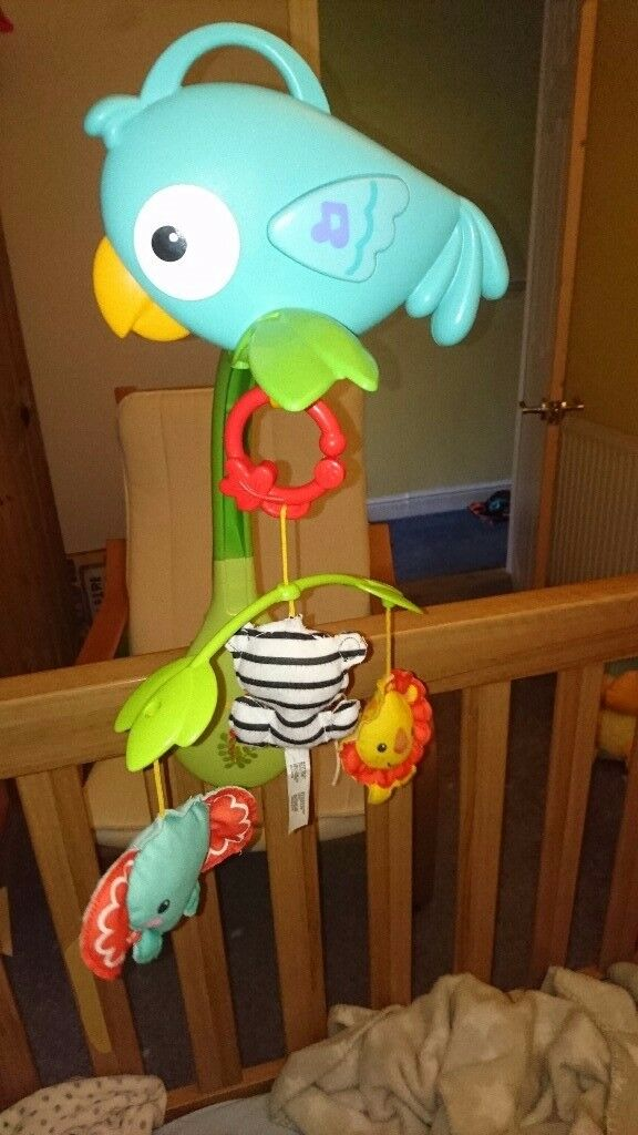 Fisher Price 3 in 1 cot mobile
