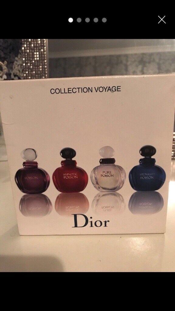 Dior Poison Perfume Miniatures In Coatbridge North Lanarkshire