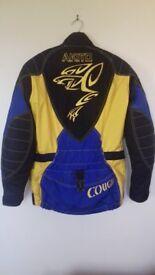 Akito Cougar Biker Jacket Size S (10 - 12)