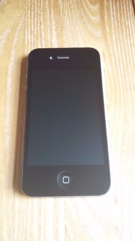 IPHONE 4 (a1332Not Working but in Excellent condition for spares and repairsin Abercynon, Rhondda Cynon TafGumtree - Black IPhone 4 (a1332) is not in working order, however it is perfect for spare parts such as screens, buttons, speakers etc. The screen is in immaculate condition, as is the backing cover and sides. Charging port is undamaged! Please note. Phone...