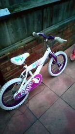Huffy girls bike 6-9yrs