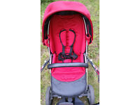 "Oyster ,,plusch"" travel system"