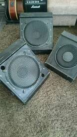 3 stage monitors