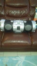 Jvc beat box/ stereo system