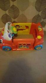 Fisher price learn and crawl car