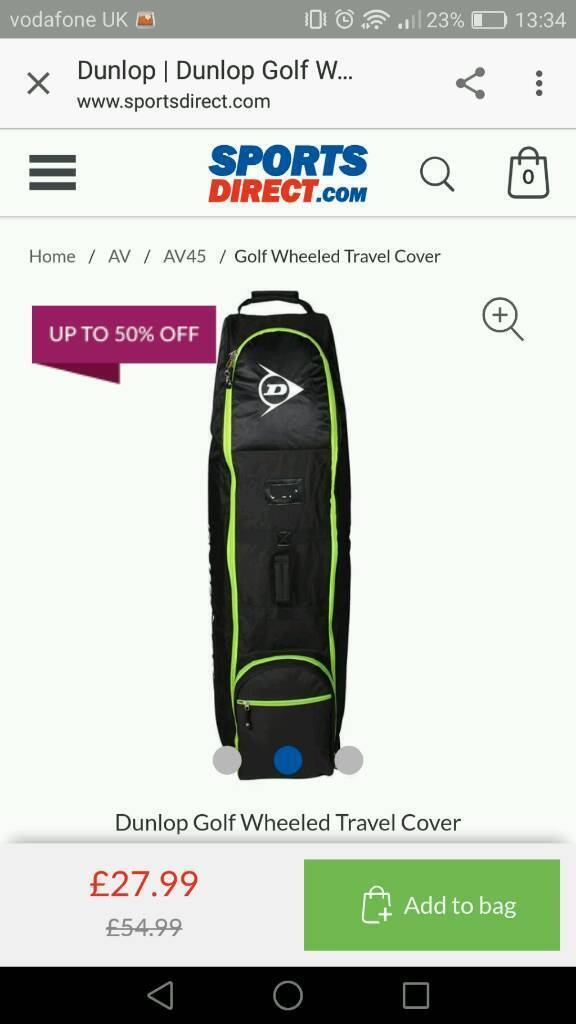 Dunlop Travel Golf Bag