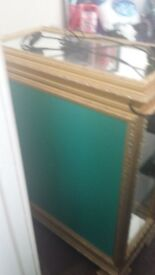 italian glass cabinet