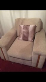 Two seat sofa and single sofa great condition