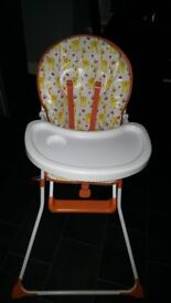 High chair. Great condition