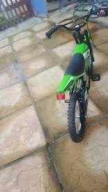 Green boys bike